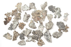 Inheems zilver Royalty-vrije Stock Afbeelding