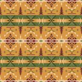 Inheems zuidwesten Amerikaans, Indisch, Azteeks, geometrisch naadloos klopje vector illustratie