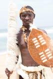 Inheemse Afrikaanse mens royalty-vrije stock afbeelding