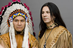 Inheemse Amerikaan Royalty-vrije Stock Afbeelding