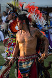 2015 Inheemse Amerikaan pow-wauw Stock Afbeelding