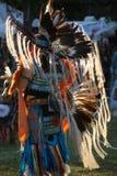 2015 Inheemse Amerikaan pow-wauw Stock Foto
