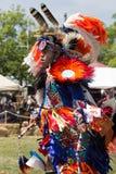2015 Inheemse Amerikaan pow-wauw Stock Fotografie