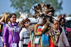Inheemse Amerikaanse Danser Royalty-vrije Stock Foto
