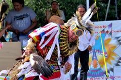 Inheemse Amerikaanse dansers Royalty-vrije Stock Afbeelding