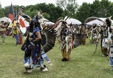 Inheemse Amerikaanse de Zomerzonnestilstand Royalty-vrije Stock Foto