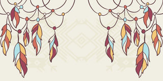 Inheemse Amerikaanse elementen Stock Foto