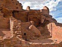Inheemse Amerikaanse Ruïnes Stock Afbeeldingen