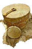 Inheemse Amerikaanse Trommels Stock Foto's