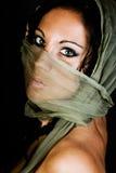 Inheemse Amerikaanse vrouwelijke mannequin stock foto's