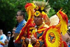 Inheemse dag levende viering in Winnipeg royalty-vrije stock afbeeldingen