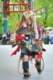 Inheemse dag levende viering in Winnipeg Stock Foto's