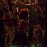 Inheemse dansers Stock Foto's