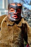 Inheemse Indische mens in traditioneel kostuum Royalty-vrije Stock Foto's