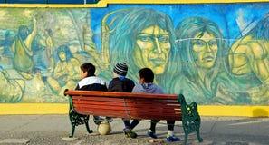 Inheemse Jonge jongens Stock Foto's