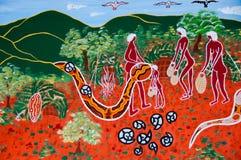 Inheems Art. stock illustratie