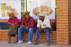 Inheemse mensen in Caraïbisch Honduras, royalty-vrije stock fotografie