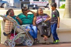 Inheemse mensen in Cozumel, Caraïbisch Mexico, stock foto's