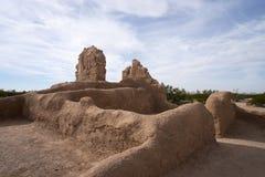 Inheemse ruïnes in Arizona royalty-vrije stock afbeeldingen