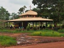 Inheemse Tiwi-Kerk, Australië Stock Foto's
