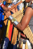 Inheemse Zuidamerikaanse muziek Stock Afbeelding