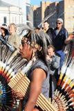 Inheemse Zuidamerikaanse muziek Stock Foto's