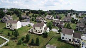 Inhemsk förbindelse som bygger i Lancaster, Pennsylvania stock video