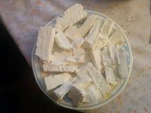 Inhemsk ost Arkivfoton