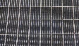 Inhemska sol- paneler Royaltyfri Bild