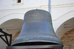 Inheri cultural del ancientRussia de Novgorod de las campanas de Bell Foto de archivo