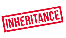 Inheritance Rubber Stamp Royalty Free Stock Photo
