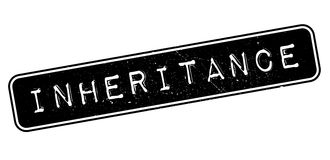 Inheritance Rubber Stamp Stock Image