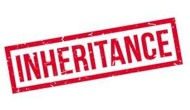 Inheritance rubber stamp. Inheritance, rubber stamp on white. Print impress overprint Royalty Free Stock Photo