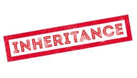 Inheritance rubber stamp Stock Photo