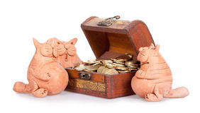 Inheritance section Stock Photo