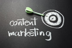 Inhoud Marketing royalty-vrije stock fotografie