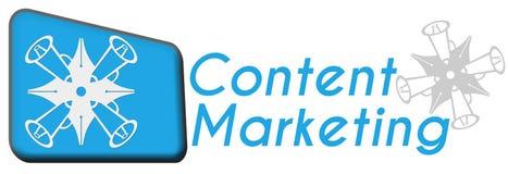 Inhoud Marketing met Symbool Stock Foto's