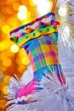 inicjuje boże narodzenie biel dekoracyjnego drzewnego Zdjęcia Royalty Free