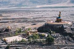 Inida горного вида Ladakh стоковое изображение rf