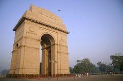 inida delhi wieczorem bramy nieba Fotografia Royalty Free