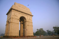 Inida gate in the evening sky, delhi Royalty Free Stock Photography