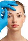 Iniezione di Botox Fotografie Stock