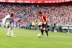 Inigo Lekue of the Athletic Club Bilbao Royalty Free Stock Image