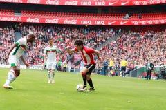 Inigo Lekue of the Athletic Club Bilbao Royalty Free Stock Images