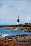 Inis Oirr Lighthouse Royalty Free Stock Photography