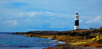 Inis Oirr Lighthouse Royalty Free Stock Photo