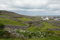 Inisheer, Aran islands, Ireland. Countryside on the Aran island of Inisheer, Ireland Royalty Free Stock Photos