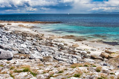 Inisheer Island. Coast at the Inisheer Island in Ireland Stock Photography