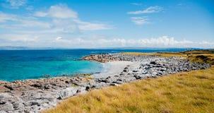 Inisheer island. Small beach on Inisheer Island in summer, Ireland Stock Photography