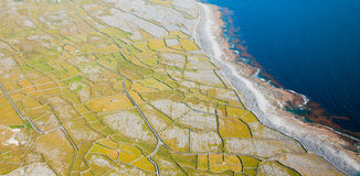 Inisheer island Royalty Free Stock Photography